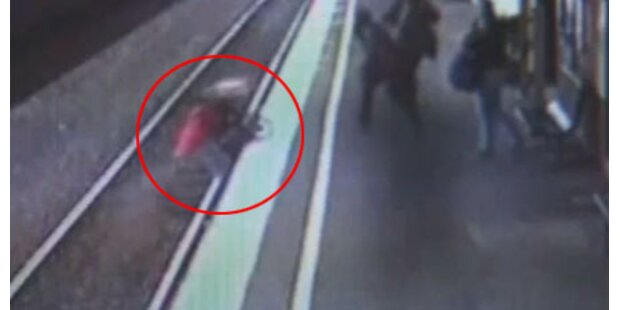 Baby wird von Zug überrollt und überlebt