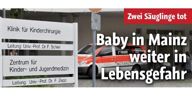 Drittes Mainzer Baby ringt mit dem Tod
