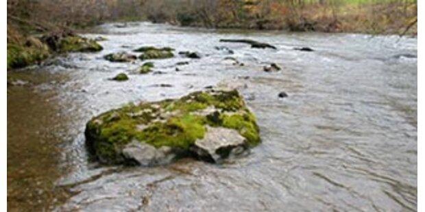 150-Kilo-Mann lag eineinhalb Tage in einem Bach
