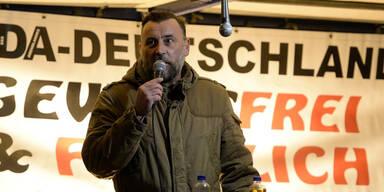 Pegida-Chef vergleicht Minister mit Goebbels