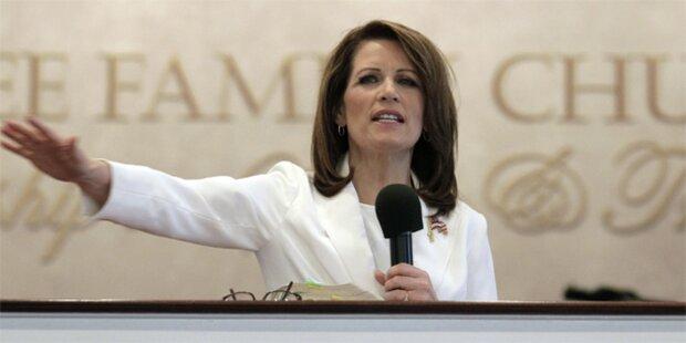 Peinlich-Kandidatin Bachmann wirft hin