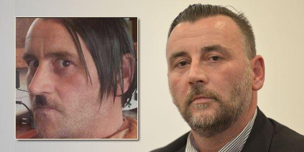 Hitler-Verschnitt wieder Pegida-Chef