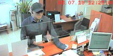 Pistolen-Mann überfällt Bank in Baden