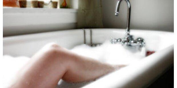 Urlaub in der Badewanne