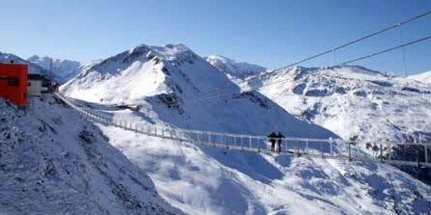 140-Meter-Hängebrücke wird eröffnet