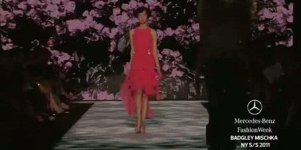 New York Fashion Week S/S 2011: Badgley Mischka
