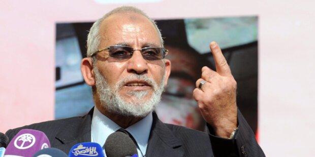 Muslimbrüder-Chef in Ägypten verhaftet