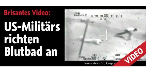 US-Militärs richten Blutbad an