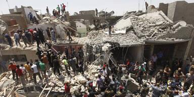 Kampfjet bombardiert versehentlich Bagdad