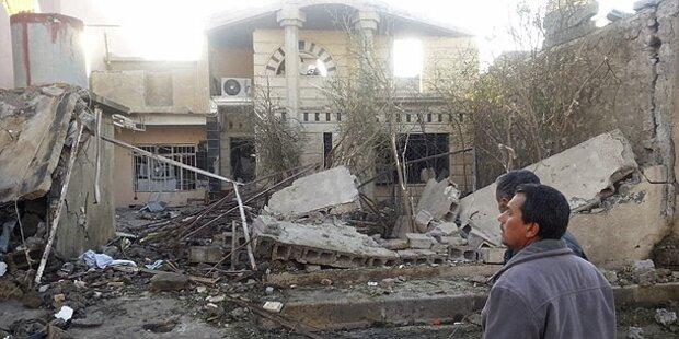 Selbstmordanschlag in Bagdad fordert 13 Tote