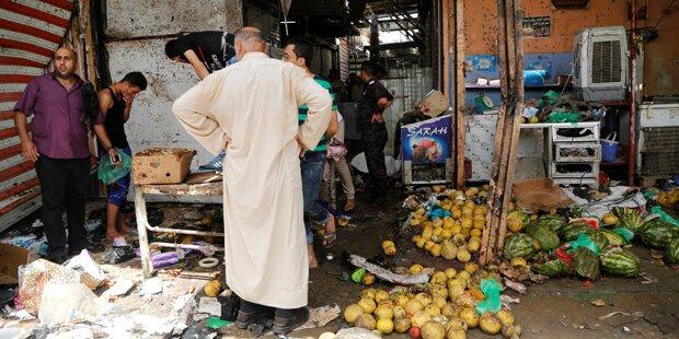 44 Tote nach Doppelanschlag in Bagdad