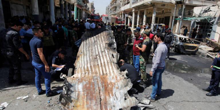 IS-Attacke auf Eis-Geschäft: Dutzende Tote