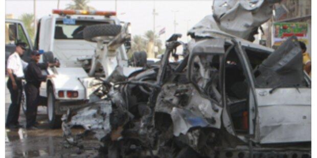 Bombenanschlag fordert 13 Tote in Bagdad