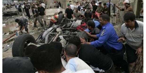 Doppelanschlag in Bagdad - 155 Tote