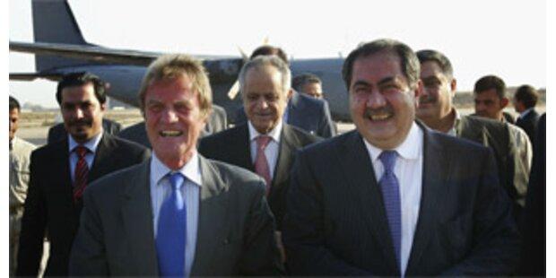 Frankreichs Außenminister drei Tage in Bagdad