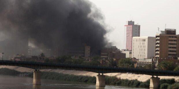 Irak: Angriff auf Zentralbank - 26 Tote