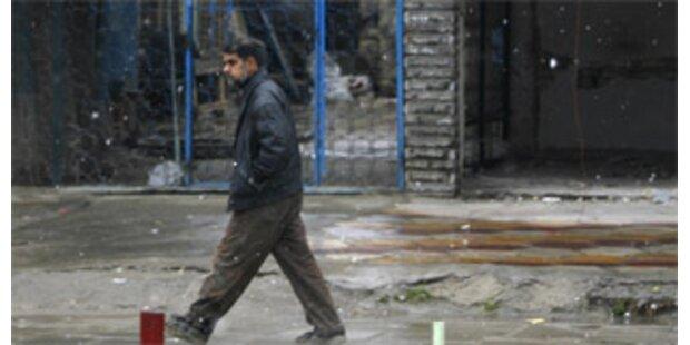 Nach 100 Jahren erstmals wieder Schnee in Bagdad