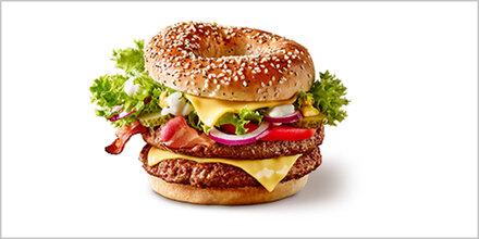 Verrückt: McDonald's bringt Bagel-Burger