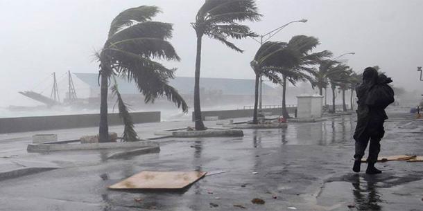 """Hurrikan """"Irene"""" auf den Bahamas"""