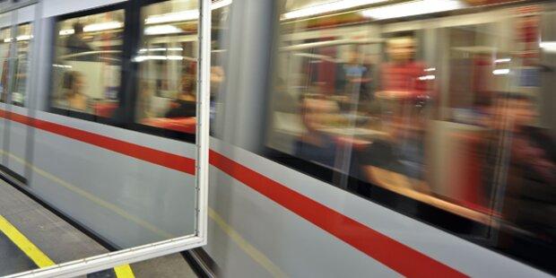 Autodiebe flüchteten auf U-Bahn-Gleis