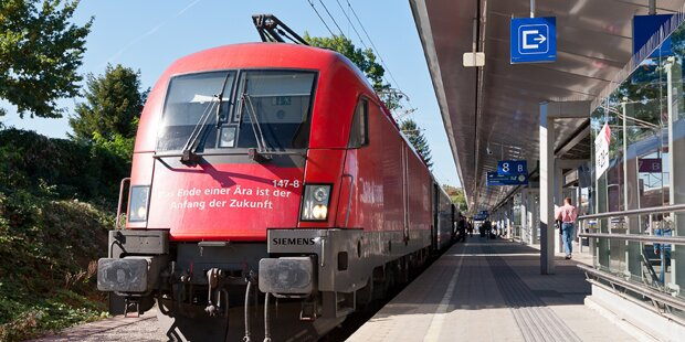 Bahn-Sperre: Salzburg-Bayern weithin zu