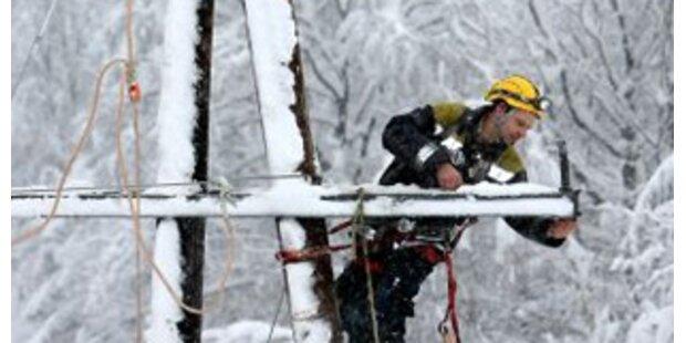 Neuerliche Stromausfälle in der Steiermark