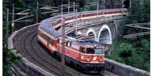 Tauernbahnstrecke eine Woche gesperrt