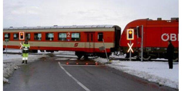 55 Eisenbahnkreuzungen sind besonders gefährlich