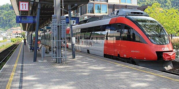 Erboster Passagier stoppt ÖBB-Zug