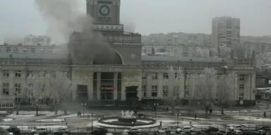 Wolgograd: Anschlag auf Bahnhof