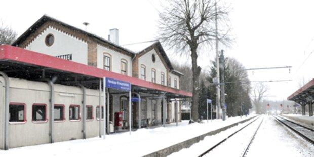 Von Zug überrollt: 20-Jähriger unverletzt