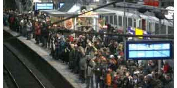 Salzburger Hauptbahnhof 2 Stunden lahmgelegt
