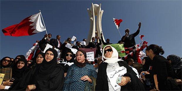 Bahrain: Demonstranten erobern Perlenplatz zurück