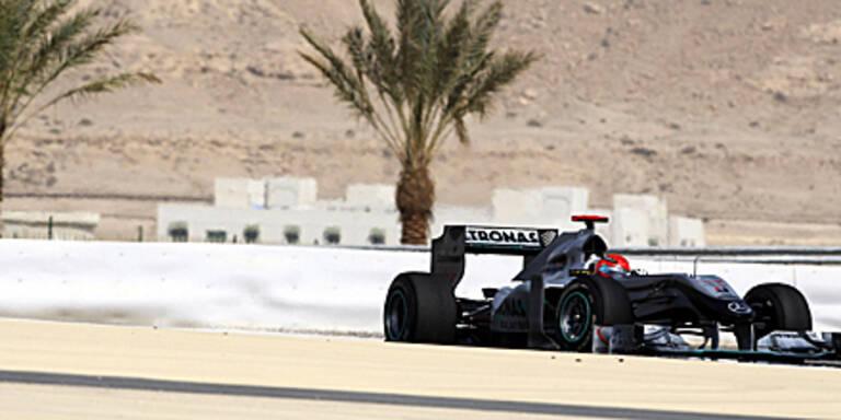 Zittern um Formel 1 Auftakt in Bahrain