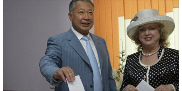 Kirgisistan wählt neuen Präsidenten