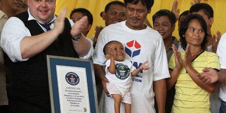 Das ist der kleinste Mann der Welt