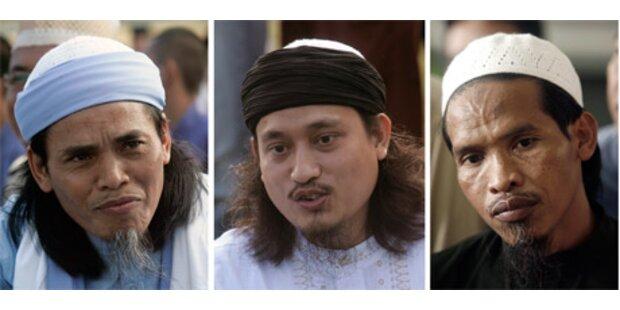 Drei Bali-Bomber in Indonesien hingerichtet