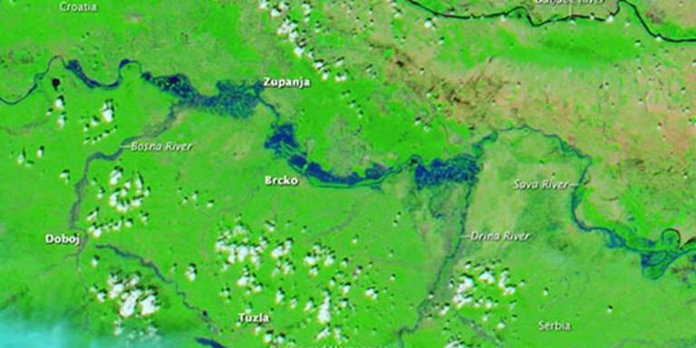 Neue Flutwelle am Balkan