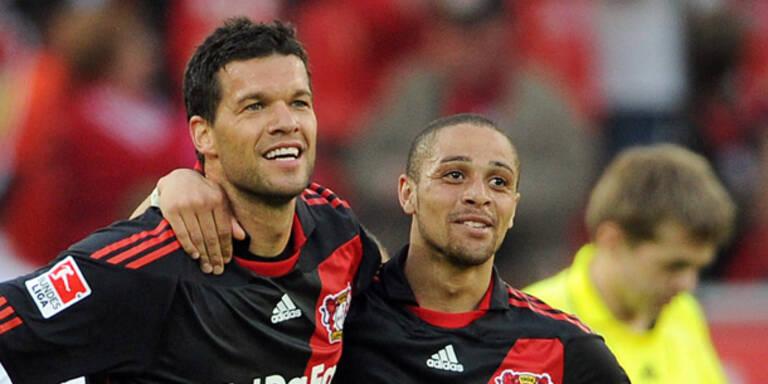 Wichtiger Sieg für Bayer Leverkusen