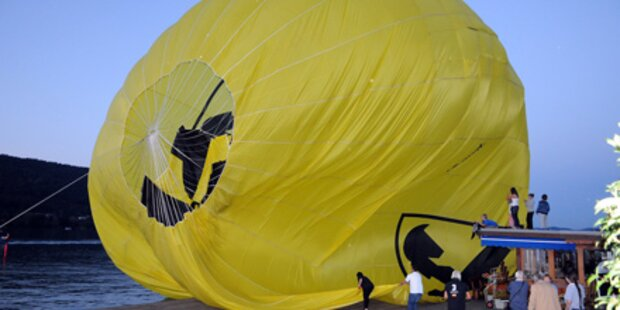 Ballonfahrer mussten in Osttirol notlanden