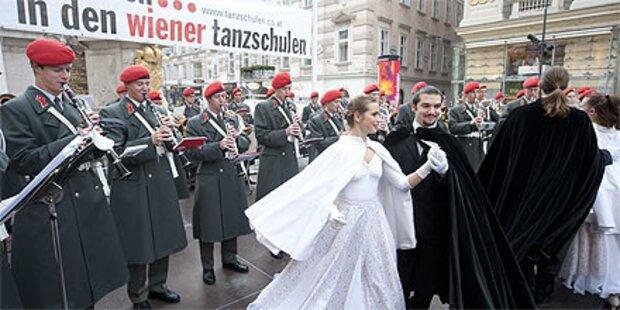 Wiener Tanzschulen läuten Ballsaison ein
