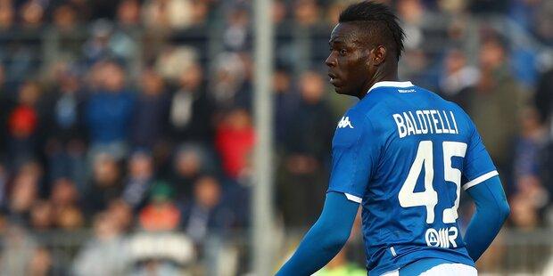 Brescia-Boss: Balotelli kann gehen