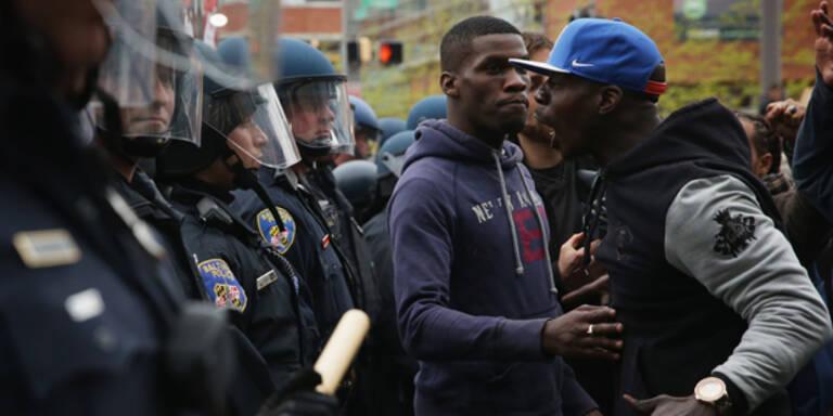 Tod eines Schwarzen: Schwere Ausschreitungen