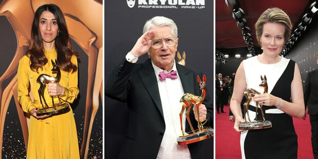 Bambi-Verleihung: Das sind die Gewinner