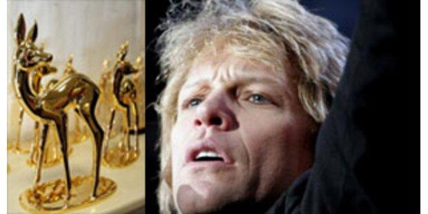 Jon Bon Jovi erhält Bambi