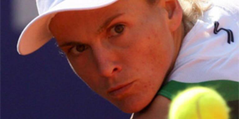 Bammer unterlag Ivanovic knapp nach harten Kampf