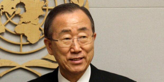 Syrien: Ban fordert erneut Ende der Gewalt