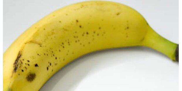 Bub wollte Laden mit Banane überfallen