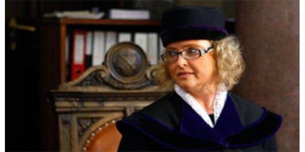 Warten auf Justizministerin Bandion-Ortner