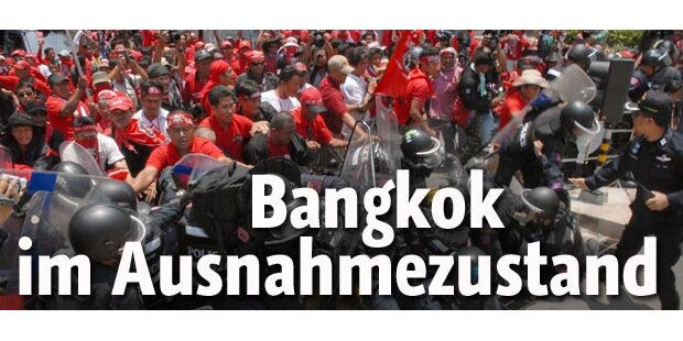 Ausnahmezustand über Bangkok verhängt